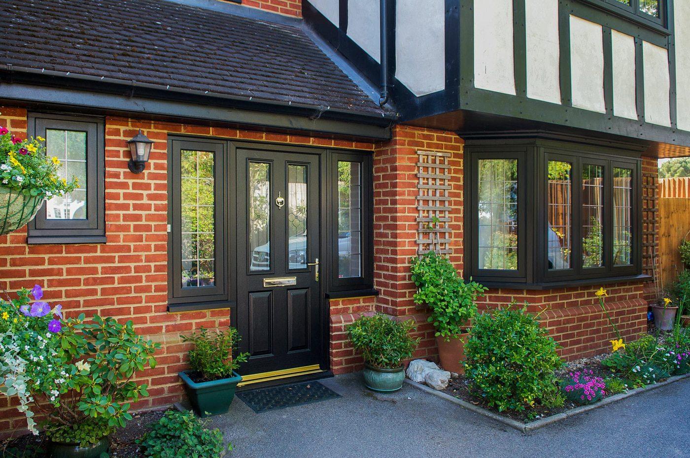 & Rocal Endurance Composite Doors   Aspire Bifolds Surrey