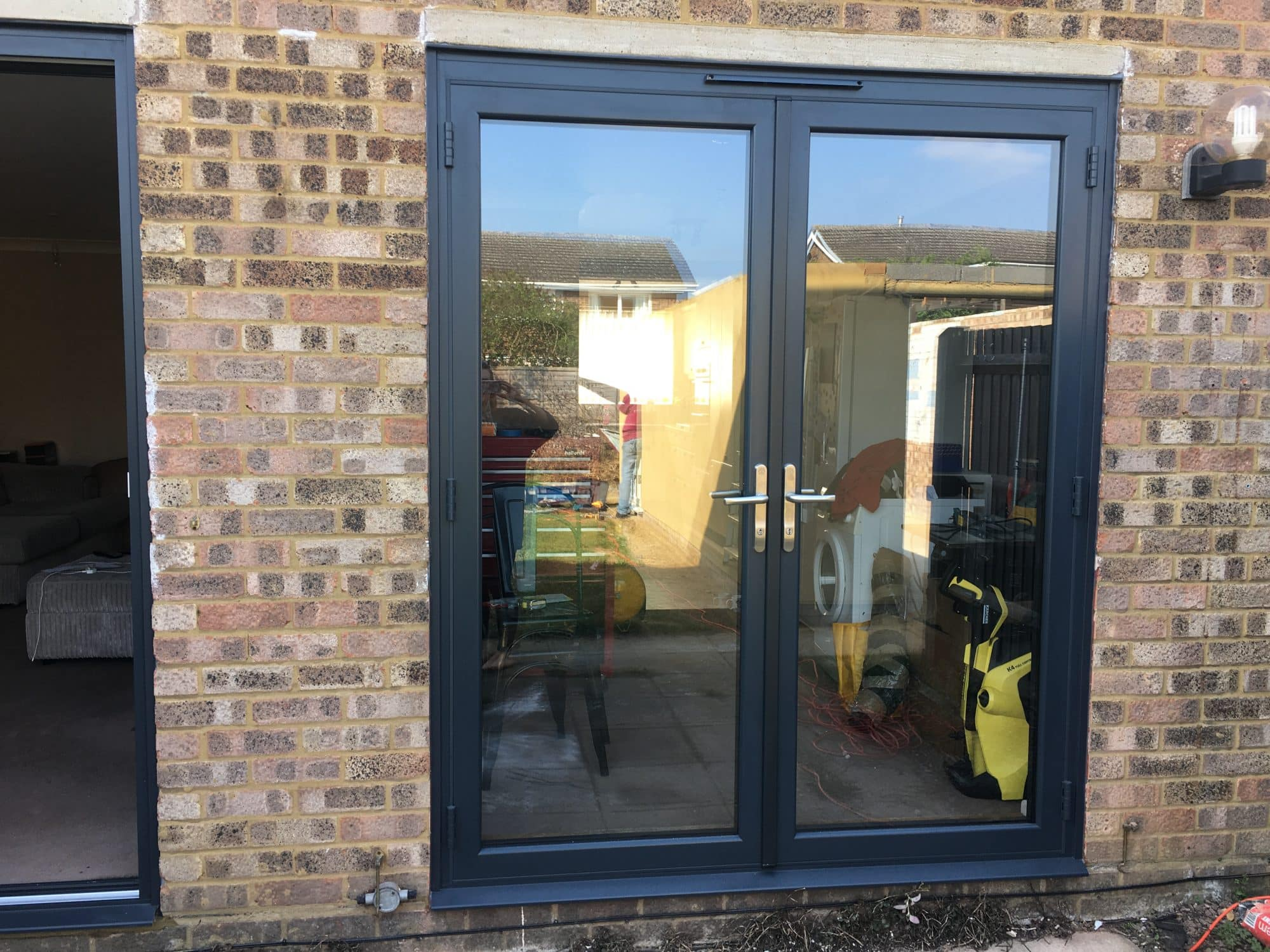 Latest Alufold Warmcore Bifolding Doors To Biggleswade