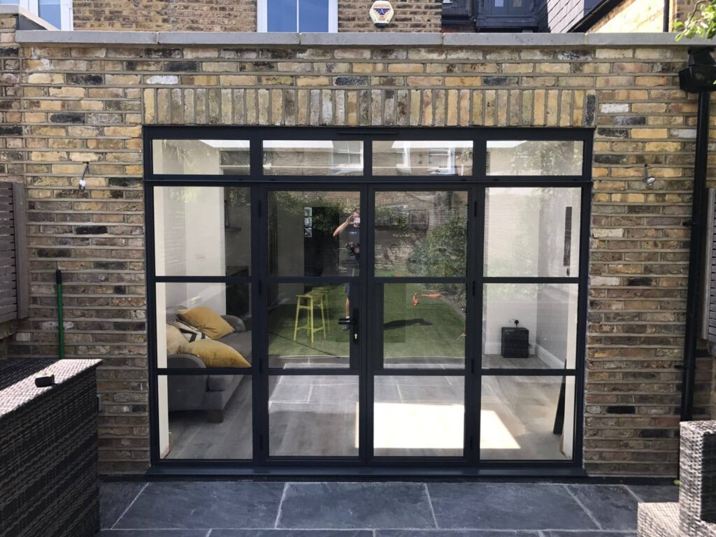 steel replacement windows and doors aspire bifolds surrey. Black Bedroom Furniture Sets. Home Design Ideas
